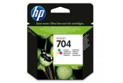 HP 704 CN693AE színes eredeti tintapatron