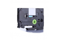 Brother HSe-131 11,7mm x 1,5m, fekete nyomtatás / átlátszó alapon, kompatibilis szalag
