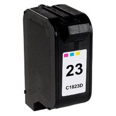 HP 23 C1823D színes kompatibilis tintapatron
