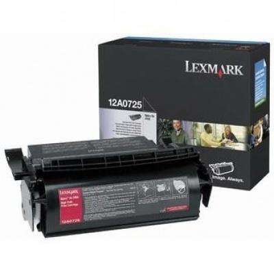 Lexmark 12A0725 fekete (black) eredeti toner