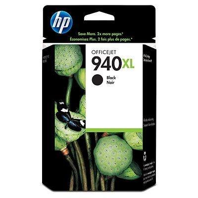 HP 940XL C4906A fekete (black) eredeti tintapatron, prošlá expirace