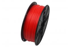 GEMBIRD filament ABS, 1,75mm, 1kg, fluoreszkálás piros