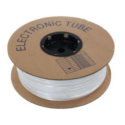 Feliratozható PVC cső kerek BA-35, 3,5 mm, 200 m, fehér