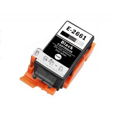 Epson T2661 fekete (black) utángyártott tintapatron