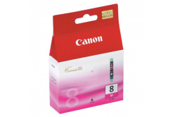 Canon CLI-8M, 0622B001 bíborvörös (magenta) eredeti tintapatron