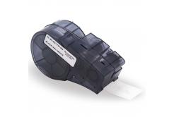Brady M21-500-488 / 110935, polyester, 12.70 mm x 6.40 m, fekete nyomtatás / fehér alapon, kompatibilis szalag