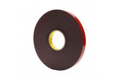 3M VHB 4611-F, 12 mm x 3 m, szürke kétoldalas akril ragasztószalag, 1,1 mm