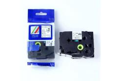 Brother HSe-241 17,7mm x 1,5m, fekete nyomtatás / fehér alapon, kompatibilis szalag