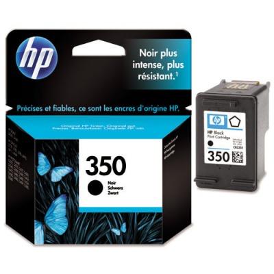 HP 350 CB335EE fekete (black) eredeti tintapatron