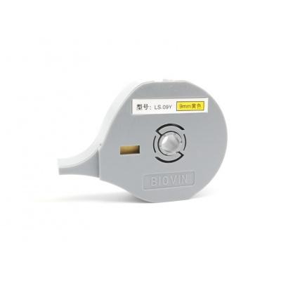 Öntapadó szalag Biovin LS-09Y, 9mm x 8m, sárga