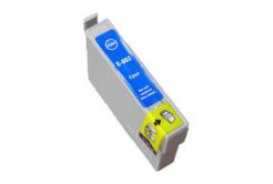 Epson T0802 cián (cyan) kompatibilis tintapatron