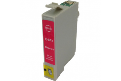 Epson T0803 bíborvörös (magenta) kompatibilis tintapatron