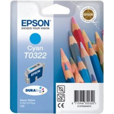 Epson T032240 cián (cyan) eredeti tintapatron