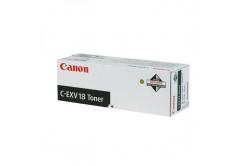 Canon C-EXV18 0386B002 fekete (black) eredeti toner