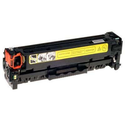 HP 304A CC532A sárga (yellow) kompatibilis toner