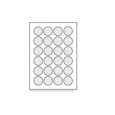Öntapadós címkék 40 x 40 mm, 24 db / A4, 100 lap
