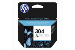 HP 304 N9K05AE színes (color) eredeti tintapatron
