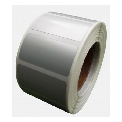 Öntapadós PP (polypropylen) címkék, 50x40mm, 1000 db, TTR, ezüst, tekercs