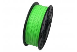 GEMBIRD filament ABS, 1,75mm, 1kg, fluoreszkálás zöld
