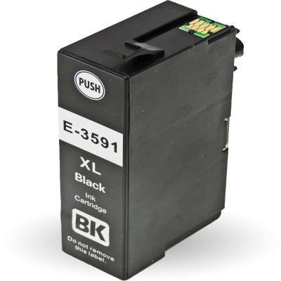 Epson 35XL T3591 fekete (black) kompatibilis tintapatron