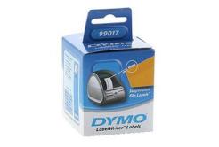 Dymo 99017, S0722460, 50mm x 12mm, fehér, 220 db, eredeti címketekercs