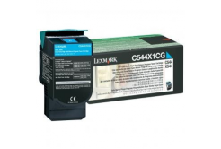 Lexmark C544X1CG cián (cyan) eredeti toner