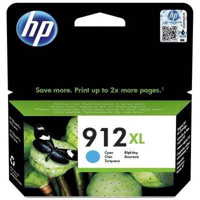HP 912XL 3YL81AE cián (cyan) eredeti tintapatron
