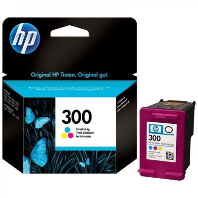 HP 300 CC643EE színes eredeti tintapatron