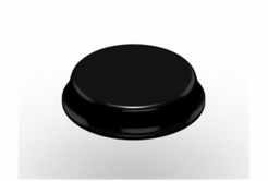 3M Bumpon SJ6344 fekete, plató = 40 db