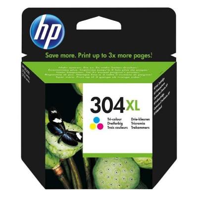 HP 304XL N9K07AE színes (color) eredeti tintapatron