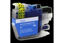 Brother LC-3217XL / LC-3219XL cián (cyan) kompatibilis tintapatron