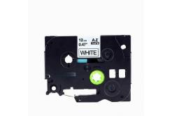 Brother TZe-V231, 12mm x 5,5m, fekete nyomtatás / fehér alapon, vinyl, kompatibilis szalag