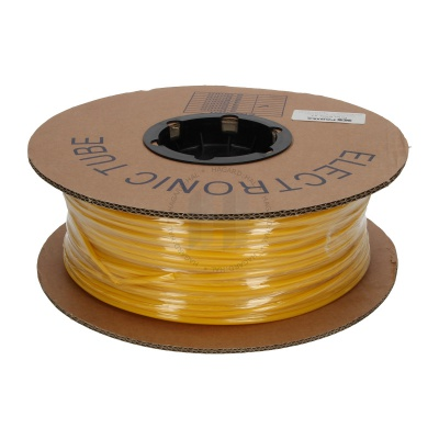 Zsugorcső kerek, BS-25Z, 2:1, 2,5 mm, 200 m, sárga