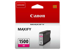 Canon eredeti tintapatron PGI-1500 M, magenta, 300 oldal, 4.5ml, 9230B001, Canon MAXIFY MB2050,MB2150,MB2155,MB2350,MB2750,MB2755
