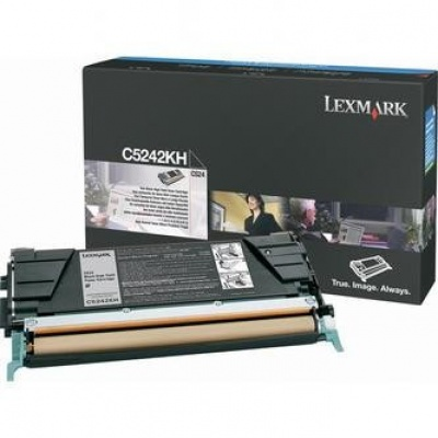 Lexmark C5242KH fekete (black) eredeti toner