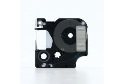 Dymo 45810, 19mm x 7m fehér nyomtatás / átlátszó alapon, kompatibilis szalag