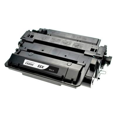 HP 55X CE255X fekete (black) kompatibilis toner
