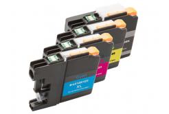 Brother LC-123 multipack kompatibilis tintapatron