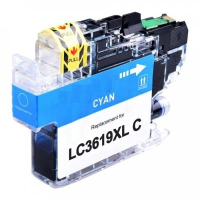Brother LC-3619XL cián (cyan) kompatibilis tintapatron
