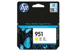 HP CN052AE, č.951 sárga (yellow) eredeti tintapatron