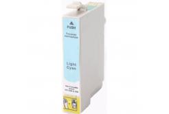 Epson T0805 világos cián (light cyan) kompatibilis tintapatron