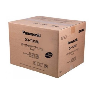 Panasonic DQ-TU15E fekete (black) eredeti toner