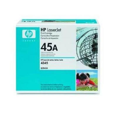 HP 45A Q5945A fekete (black) eredeti toner