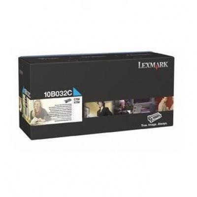 Lexmark 10B032C cián (cyan) eredeti toner