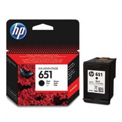 HP 651 C2P10AE fekete (black) eredeti tintapatron