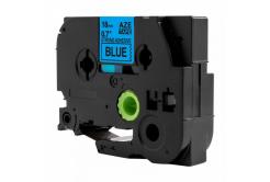 Utángyártott szalag Brother TZ-S541 / TZe-S541, 18mm x 8m, extr.adh. fekete nyomtatás / kék alapon