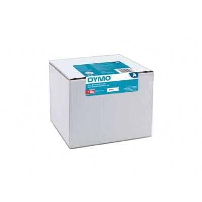 Dymo D1 40913, 2093096, 9mm x 7 m, fekete nyomtatás/fehér alapon, eredeti szalag, 10 db