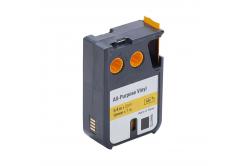 Dymo 1868772, 19mm x 7m, fekete nyomtatás / sárga alapon, kompatibilis szalag