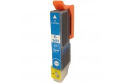 Epson T2432 XL cián (cyan) kompatibilis tintapatron