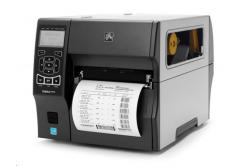 Zebra ZT420 ZT42062-T2E0000Z címkenyomtató, 8 dots/mm (203 dpi), cutter, RTC, display, EPL, ZPL, ZPLII, USB, RS232, BT, Ethernet